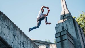 history of parkour
